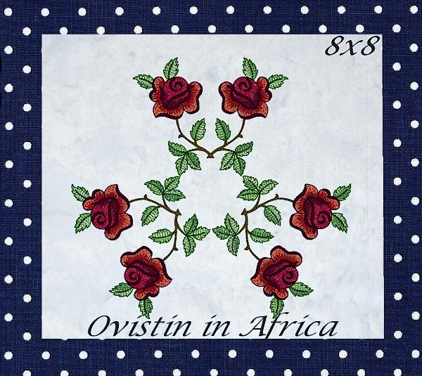 Rose Quilt Blocks and Borders-14
