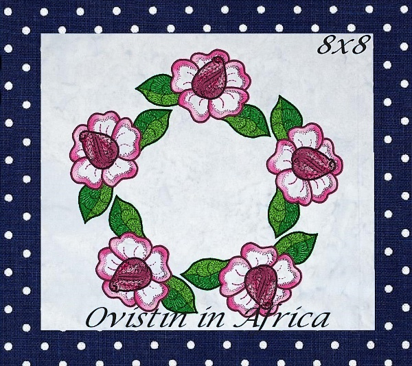 Rose Quilt Blocks and Borders-15