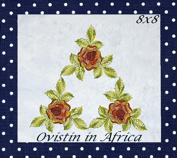 Rose Quilt Blocks and Borders-16