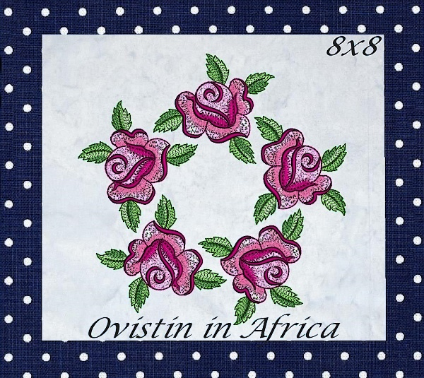 Rose Quilt Blocks and Borders-17
