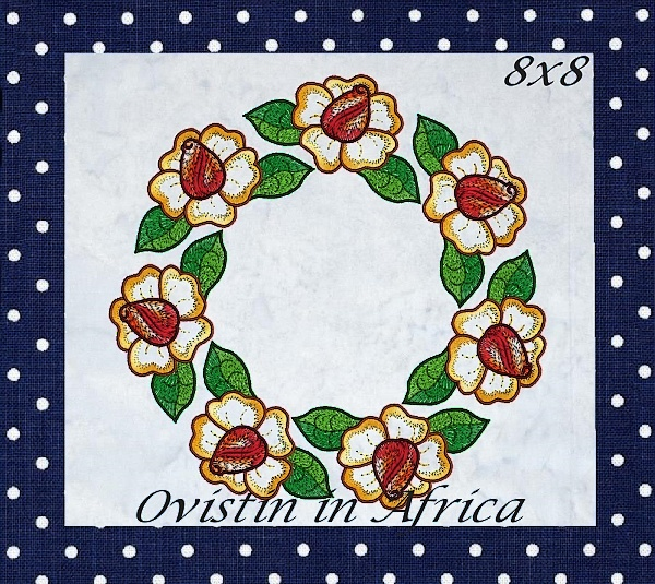 Rose Quilt Blocks and Borders-18