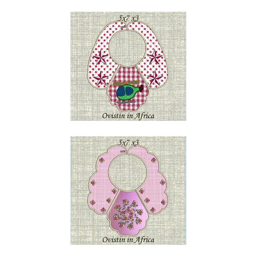 Bib Set 9 for small hoops