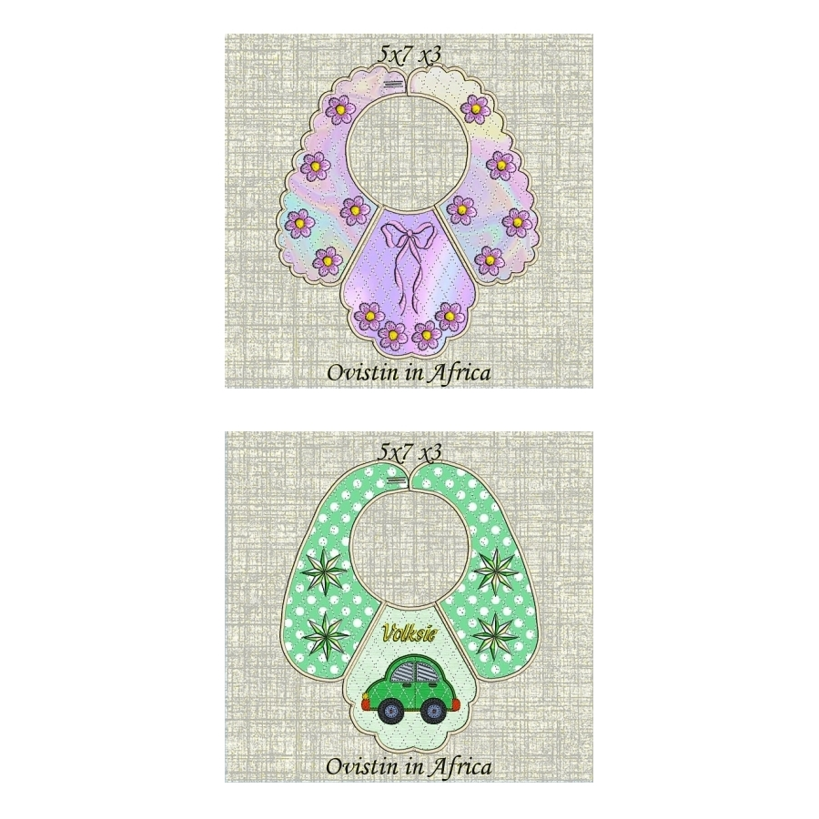 Bib Set 10 for small hoops