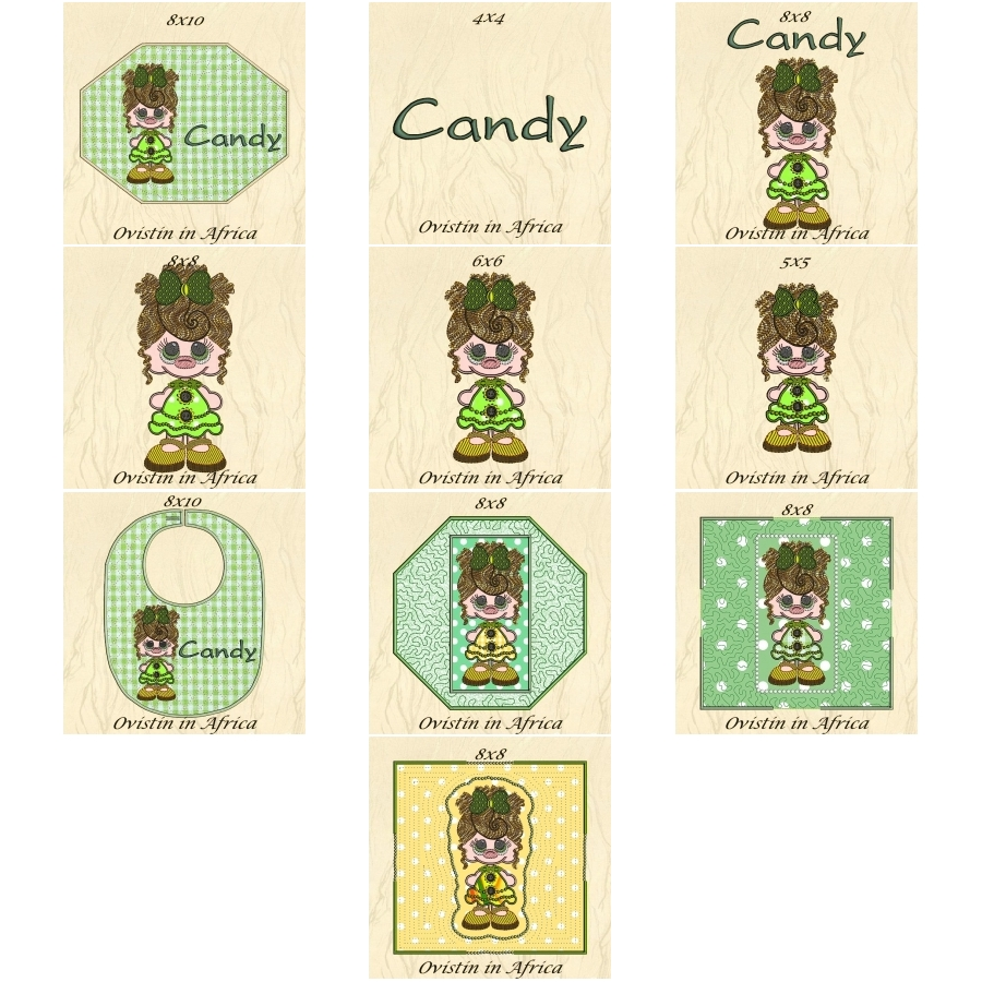 Candy Doll Projects