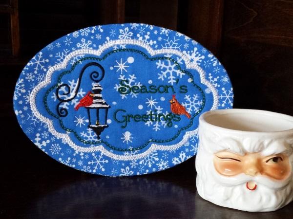 Season of Wonders Mug Rugs -9