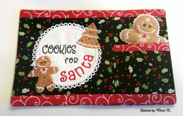 Santa Snack Mat