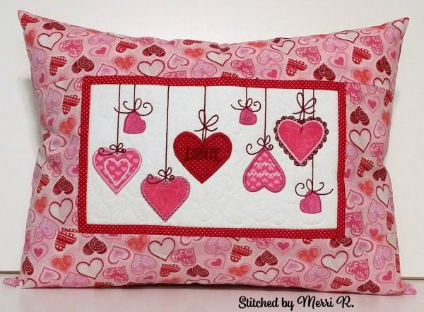 Hearts Pillow