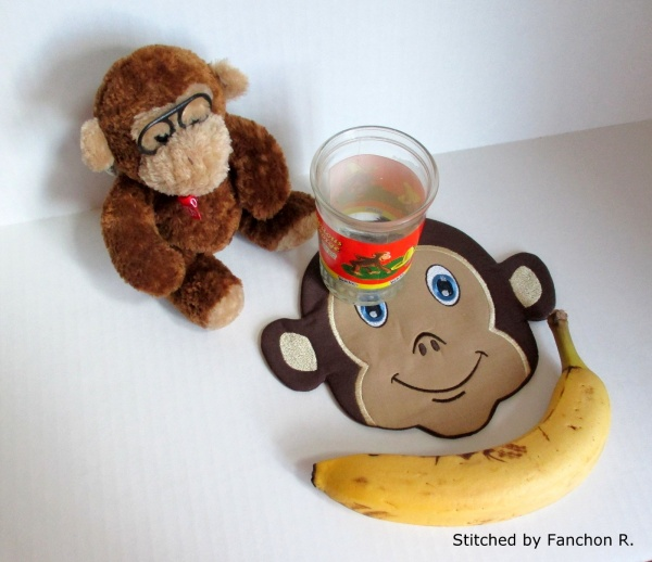 Monkey Snack Mat-9
