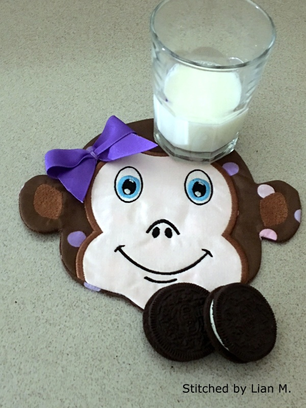 Monkey Snack Mat-10