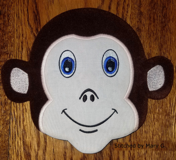 Monkey Snack Mat-11