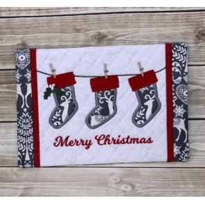 Stockings Snack Mat