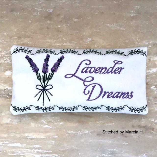 Lavender Dreams Sachet-10