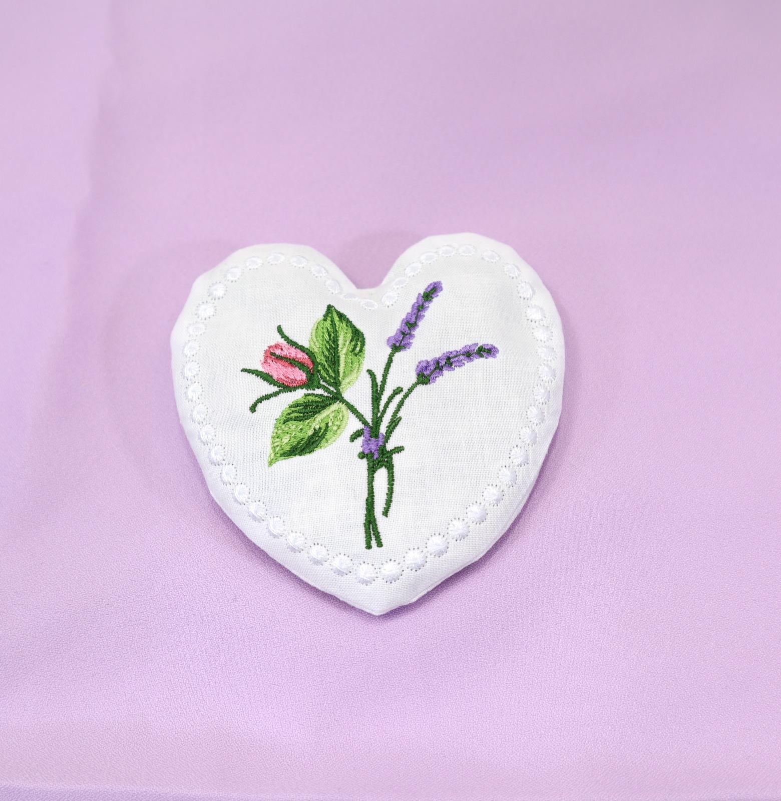Lavender Heart Sachet-4
