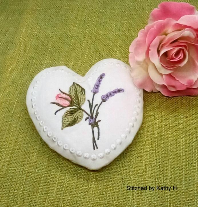 Lavender Heart Sachet-5