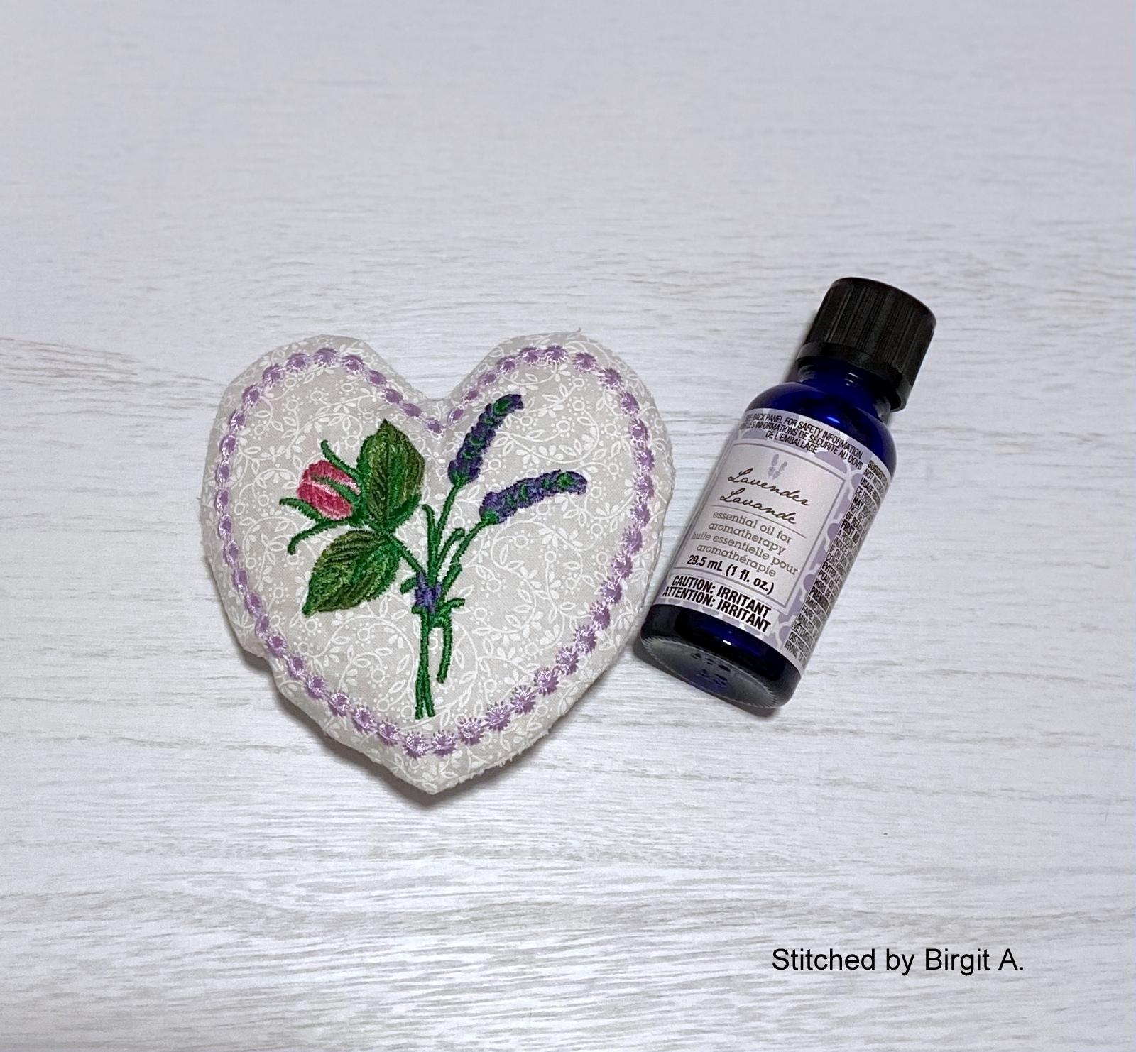Lavender Heart Sachet-7
