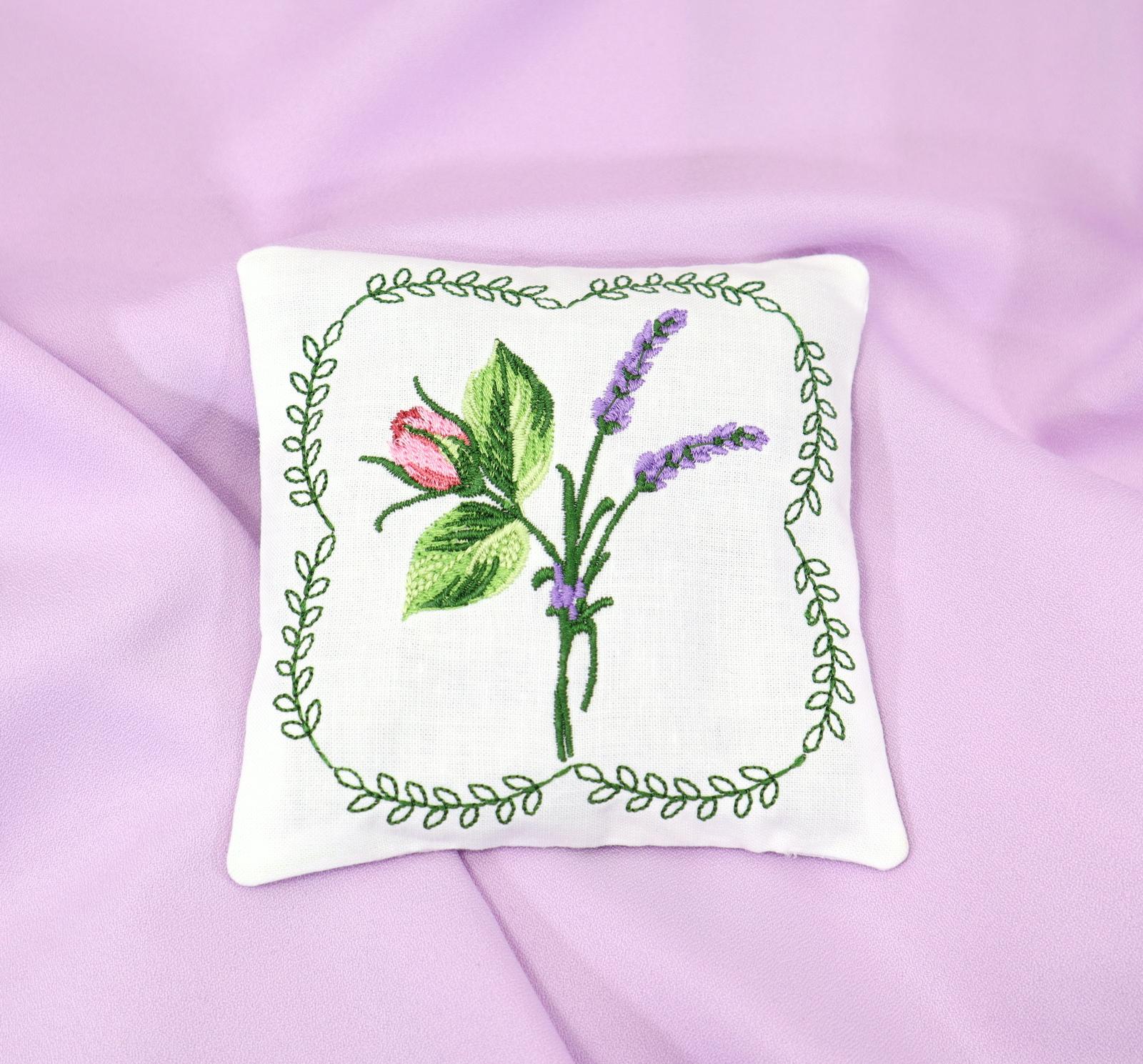 Lavender Rose Sachet-3