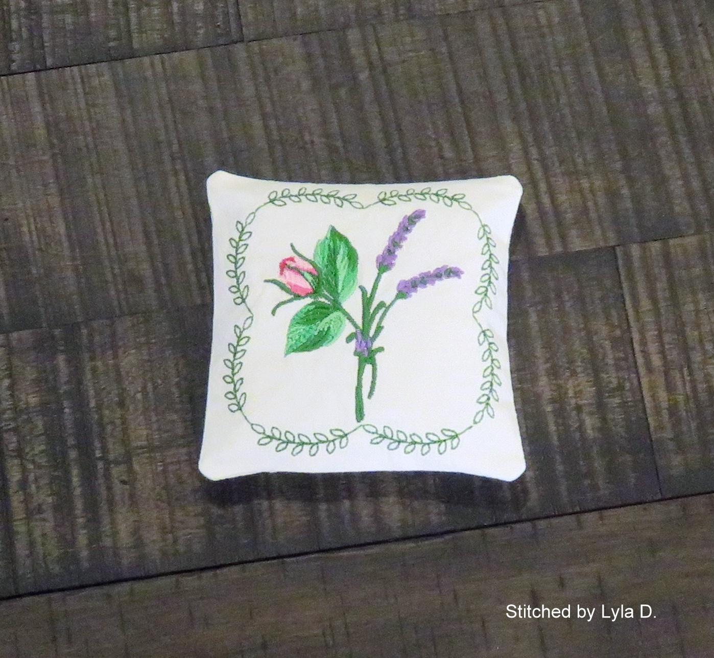 Lavender Rose Sachet-4