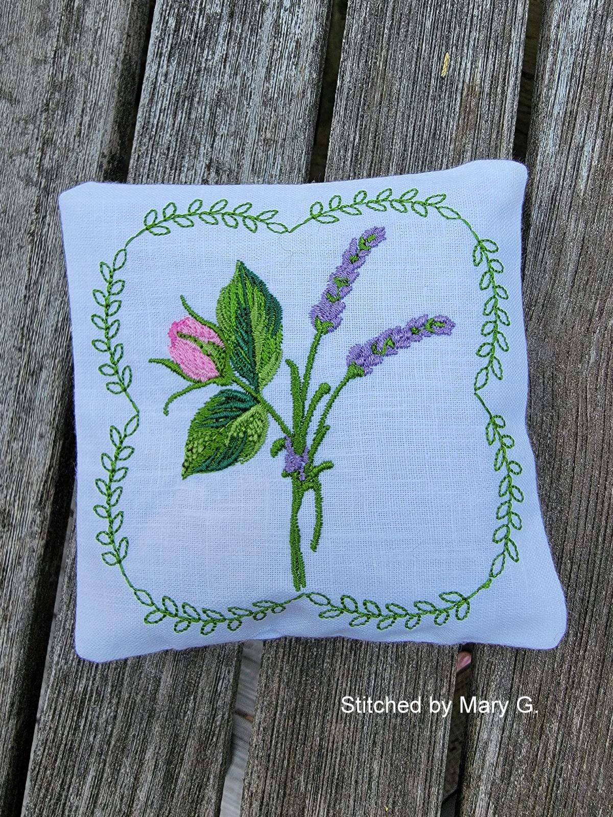 Lavender Rose Sachet-5