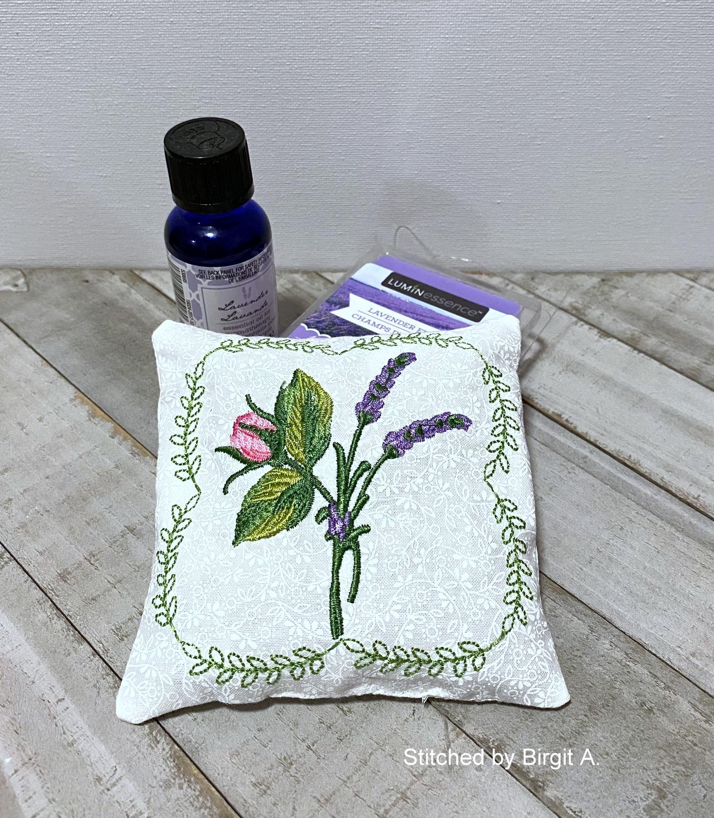 Lavender Rose Sachet-6