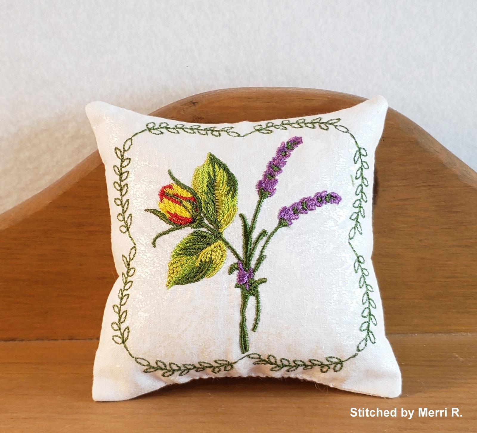 Lavender Rose Sachet-8