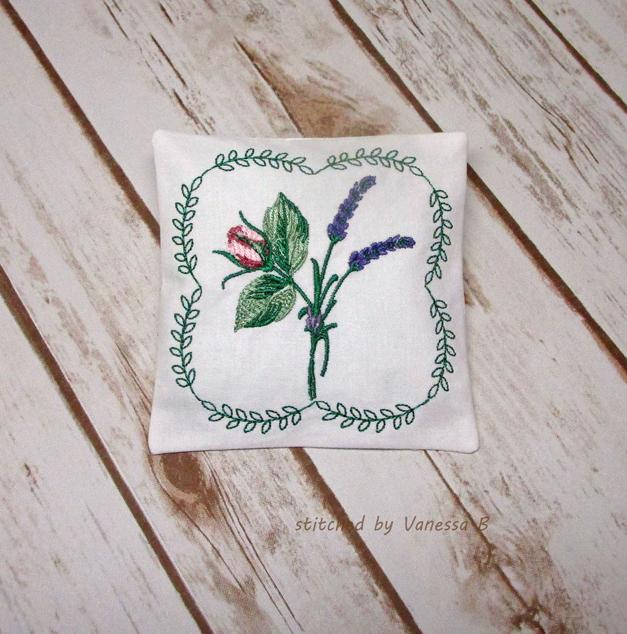 Lavender Rose Sachet-9