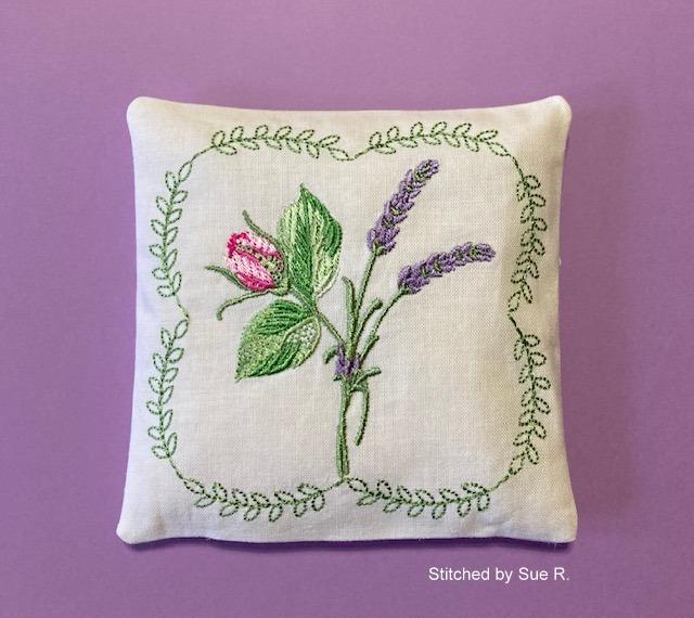 Lavender Rose Sachet-10