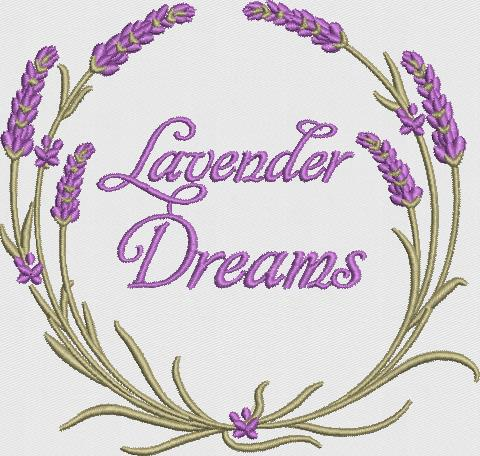 Lavender Wreath-4