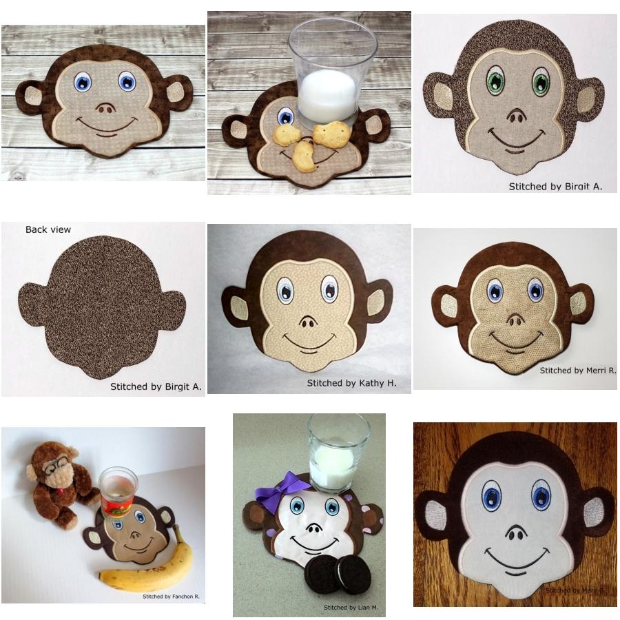 Monkey Snack Mat