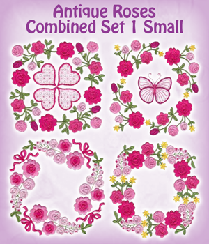 Antique Roses Combined Set 1 Small