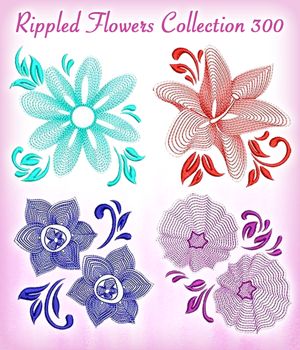 Rippled Flowers Collection