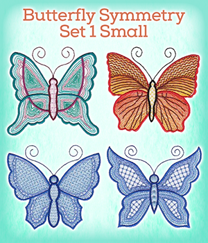 Butterfly Symmetry Set 1 Small