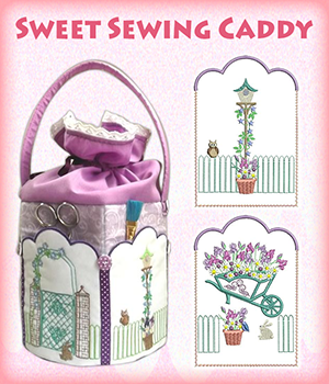 Sweet Sewing Caddy
