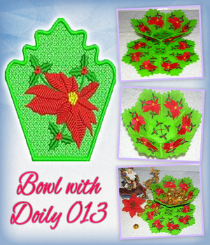 Bowl with Doily 013