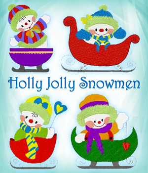 Holly Jolly Snowmen
