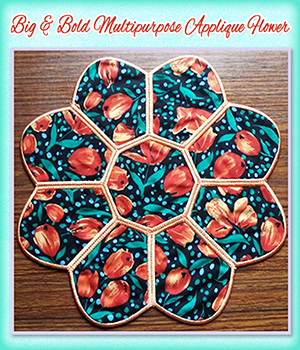Big & Bold Multipurpose Applique Flower