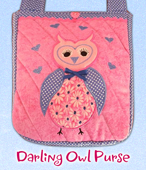 Darling Owl Purse