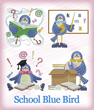School Blue Bird