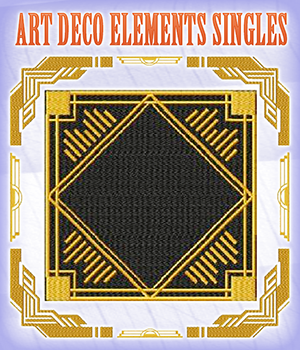 Art Deco Elements Singles