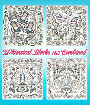 Whimsical Blocks 1&2 Combined