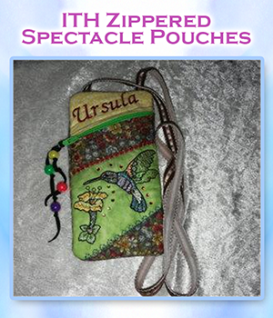 ITH Zippered Spectacle Pouches