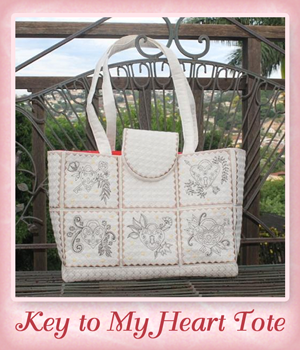 Key to My Heart Tote