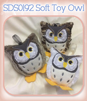 SDS0192 Soft Toy Owl
