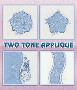 Two Tone Applique