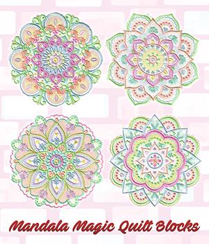 Mandala Magic Quilt Blocks