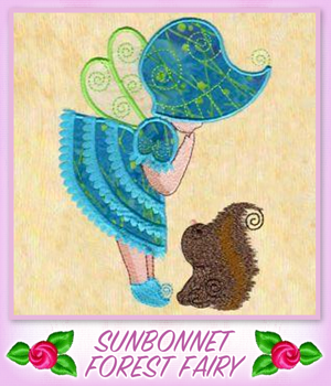 Sunbonnet Forest Fairy