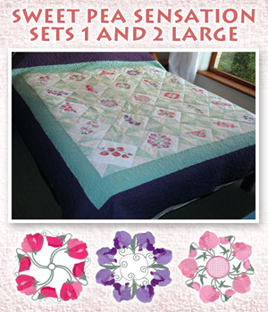 Sweet Pea Sensation Sets 1 and 2 Large
