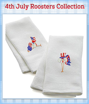 4th July Roosters Collection