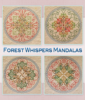 Forest Whispers Mandalas