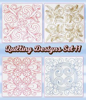 Quilting Designs Set 11