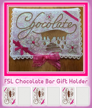 FSL Chocolate Bar Gift Holder